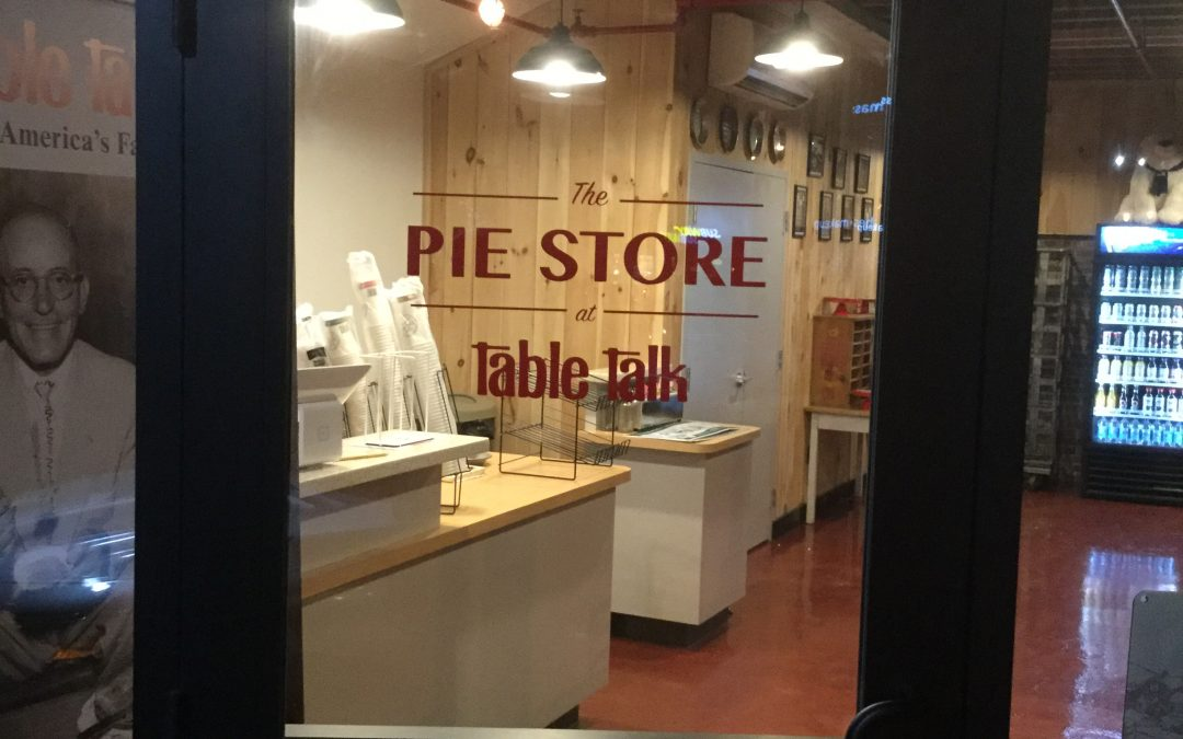 Table Talk Pies opens retail store in Canal District