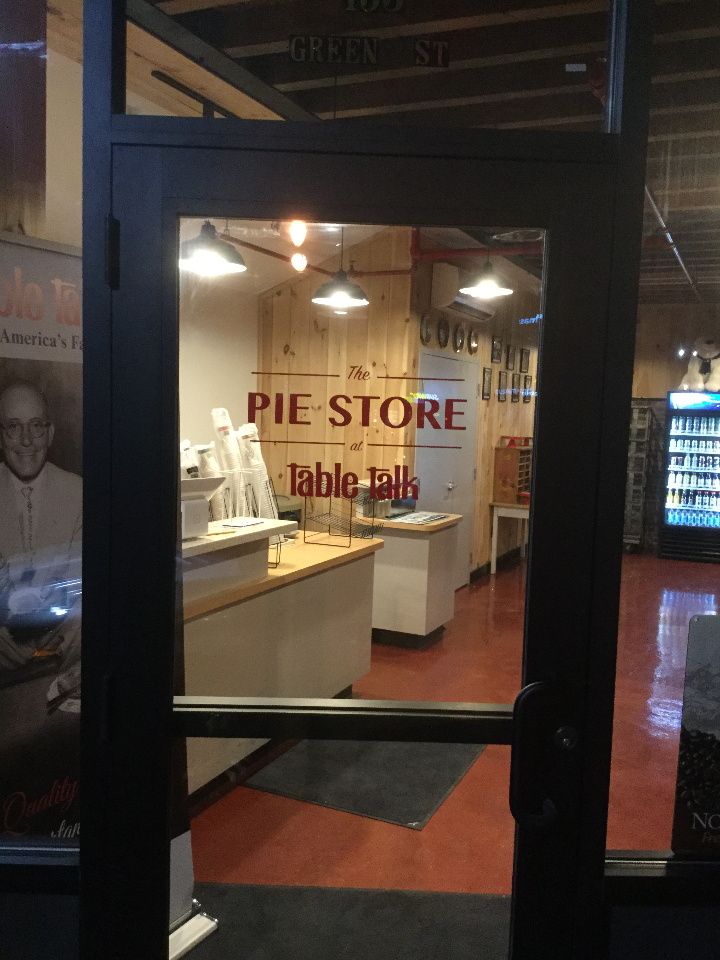 Now Open Table Talk Pie Outlet