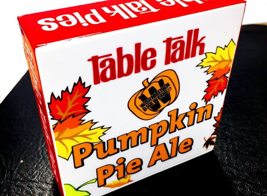 Table Talk and Wormtown Brewery team up to release pumpkin pie beer
